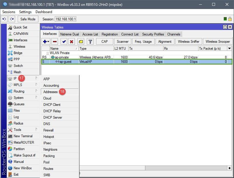 MikroTik: Setup Guest WiFi – Marthur